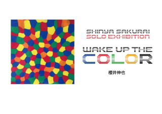 WAKE UP THE COLOR SHINYA SAKURAI SOLO EXHIBITION